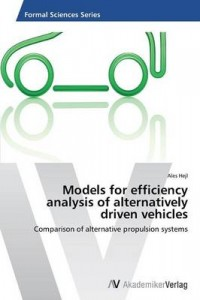 models for efficiency analysis of alternatively driven vehicles