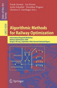 Algorithmic methods for railway optimization