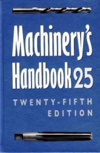 Machinery's Handbook 25th Revised edition